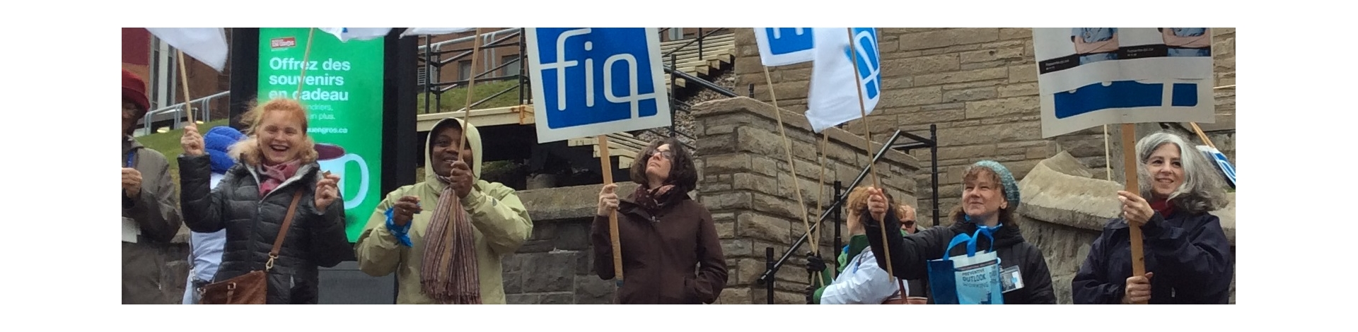 Symbolic picketing MGH November 2015